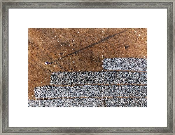Drying Sardines Framed Print by Haitham Al Farsi