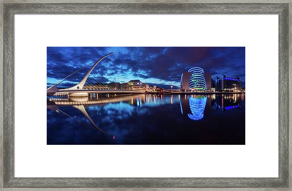 Dublin - Samuel Beckett Bridge Framed Print