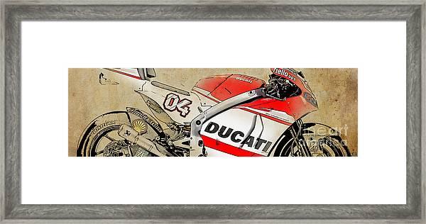 Ducati Gp14 04 Framed Print