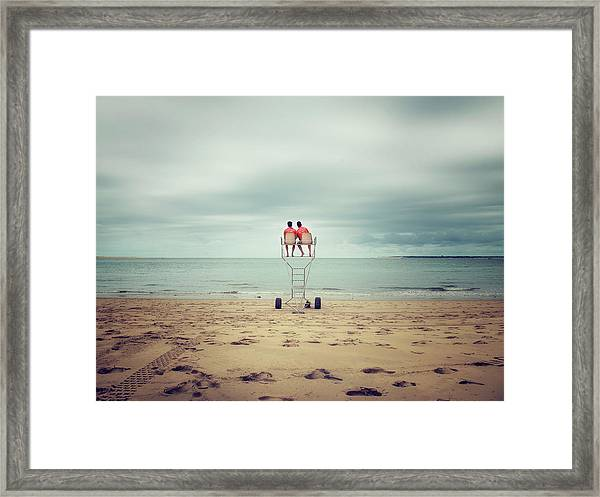 Duet Framed Print by Thierry Boitelle