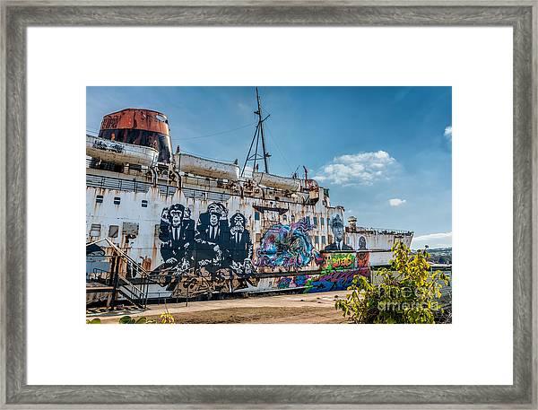 Duke Graffiti  Framed Print
