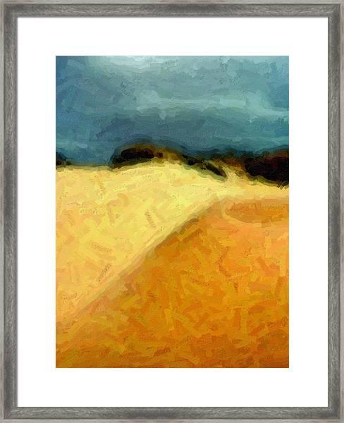 Dunes 1 Framed Print