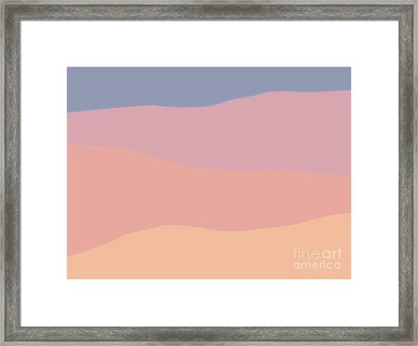 Dunes Forward Framed Print