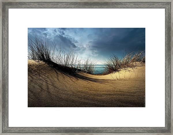 Dunes........... Framed Print by Wim Schuurmans