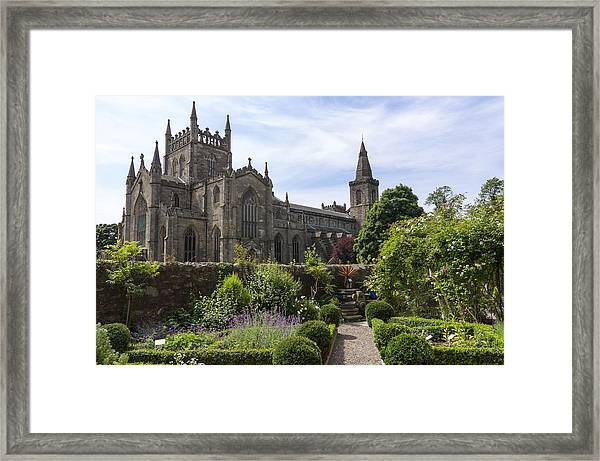 Dunfermline Abbey From The Abbot House Framed Print