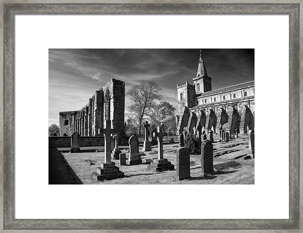 Dunfermline Palace And Abbey Framed Print
