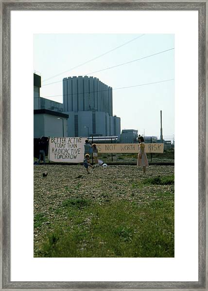 Dungeness 'b' Nuclear Power Station  Framed Print