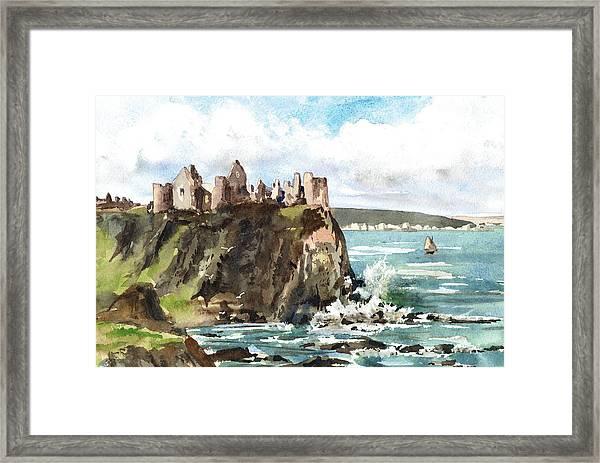 Dunluce Castle Antrim N I Framed Print