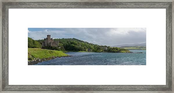 Dunvegan Castle Panorama Framed Print