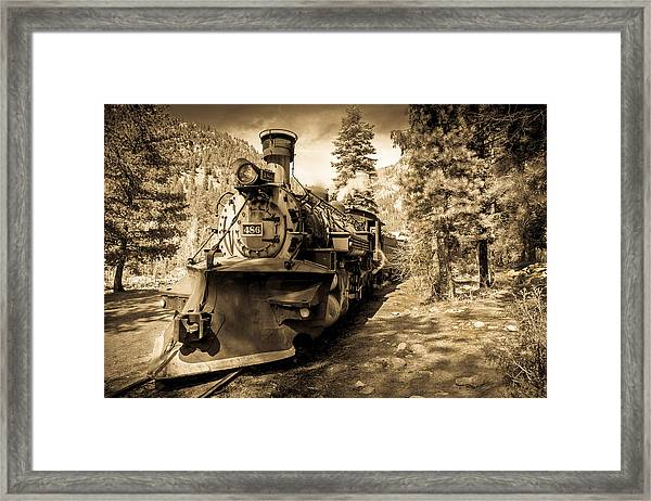 Durango And Silverton #2 Framed Print
