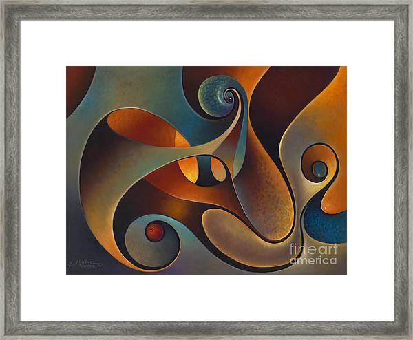 Dynmaic Series #14 Framed Print