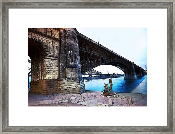 Eads Bridge 2 Framed Print