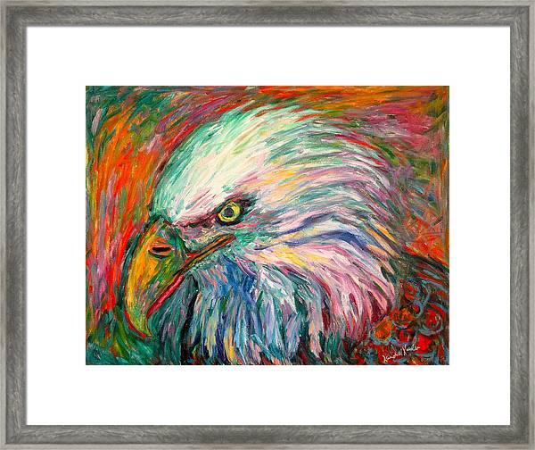 Eagle Fire Framed Print