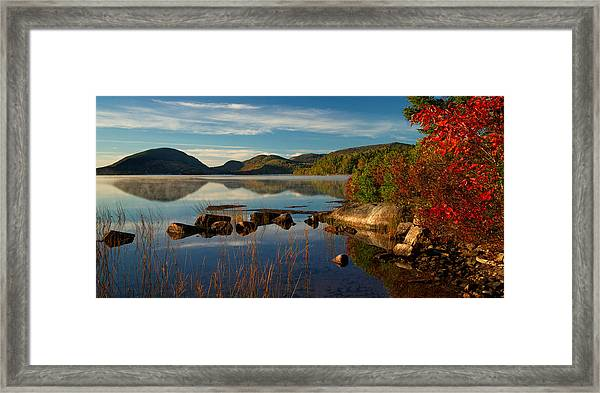 Eagle Lake Framed Print