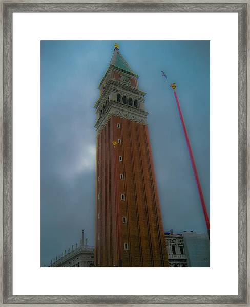 Eagle Tower Framed Print