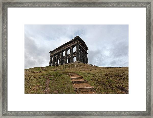 Earl Of Durhams Monument Commonly Framed Print