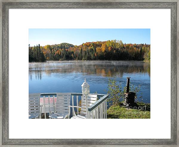 Early Autumn Morning Framed Print