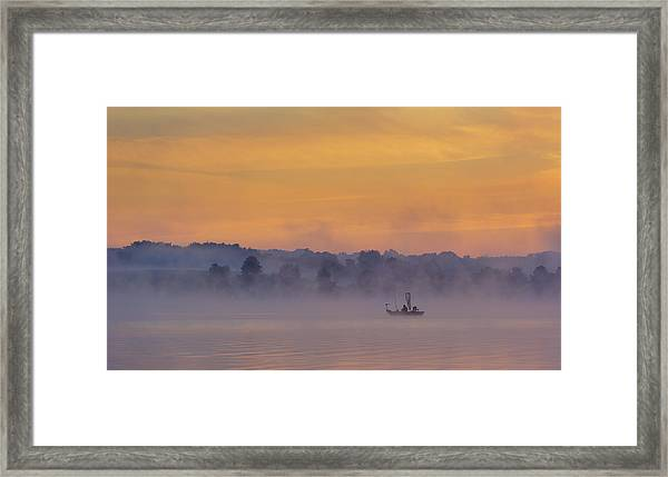 Early Fishing Framed Print