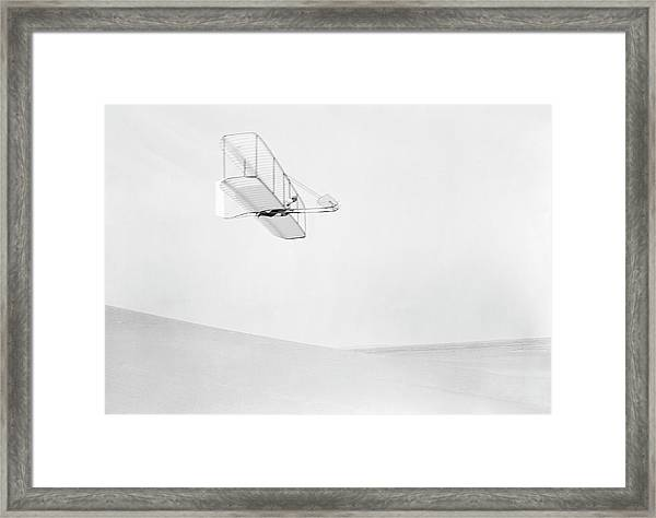 Early Glider Framed Print