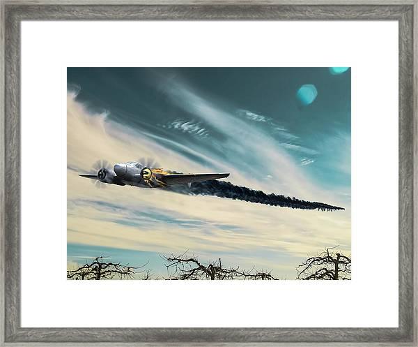 Early Landing Framed Print