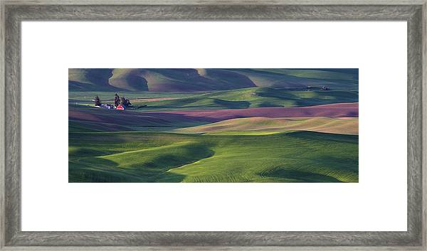 Early Light In The Palouse Framed Print