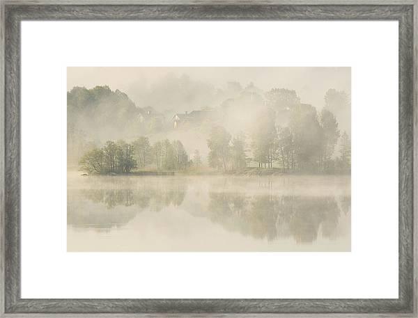 Early Morning. Framed Print by Allan Wallberg