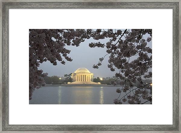 Early Morning In Washington Framed Print
