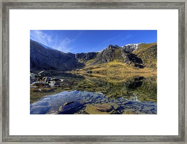 Early Morning Lake Framed Print