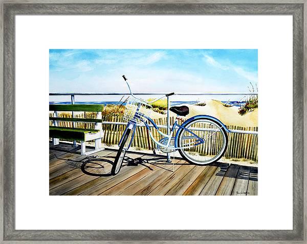 Early Morning Ride Framed Print
