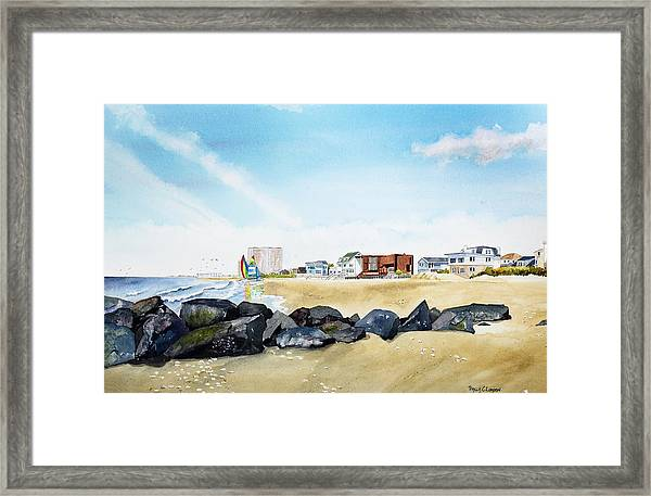 Early Morning Sail Framed Print