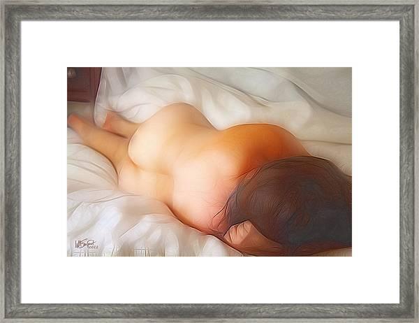Early Morning Sunshine Framed Print