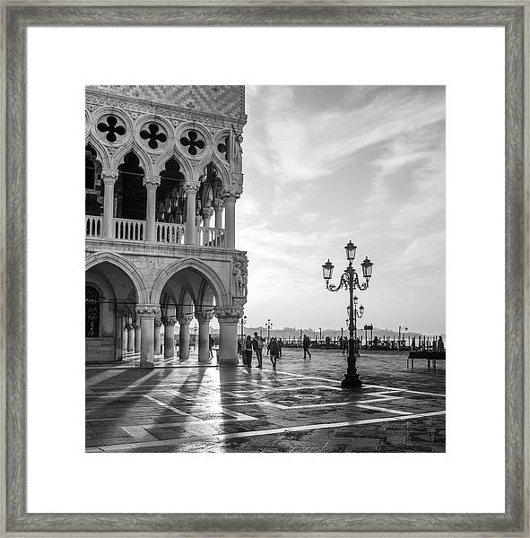 Early Morning - Venice Framed Print
