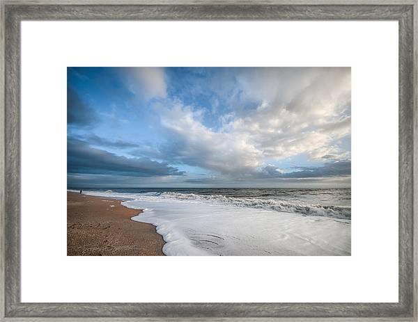 Early Morning Vilano Beach Framed Print