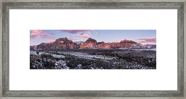 Early Morning Winter Framed Print