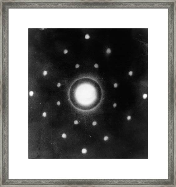 Early Neutron Diffraction Imaging Framed Print