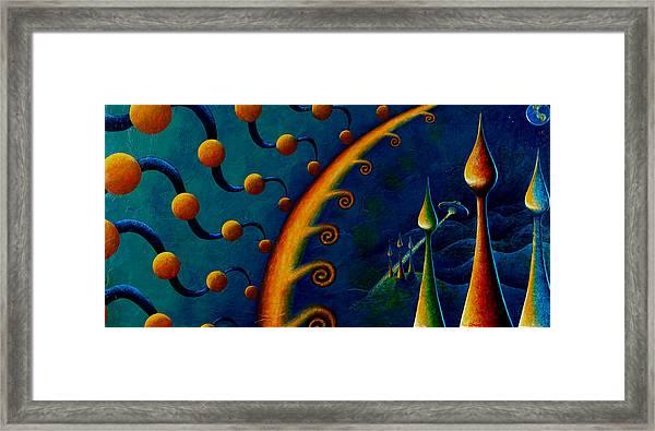 Earth Horizon 2010 Framed Print