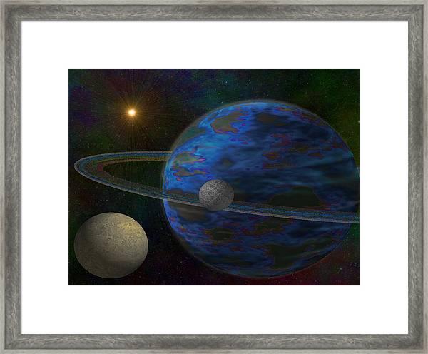 Earth-like Framed Print