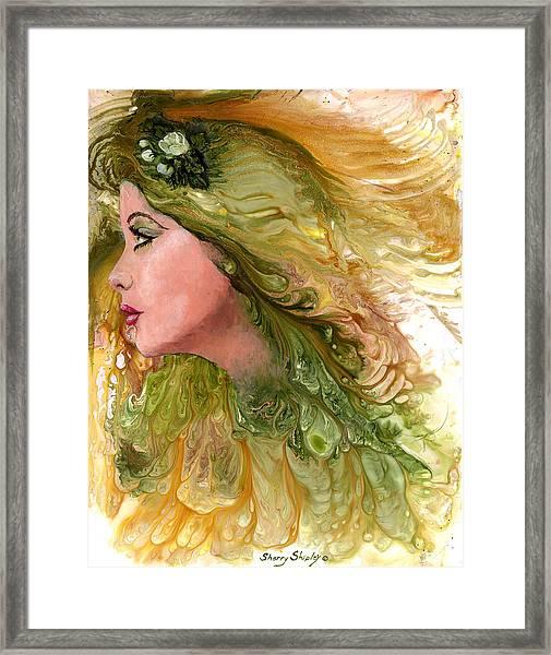 Earth Maiden Framed Print