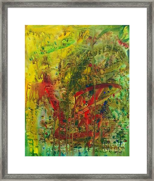 Earth Print Framed Print