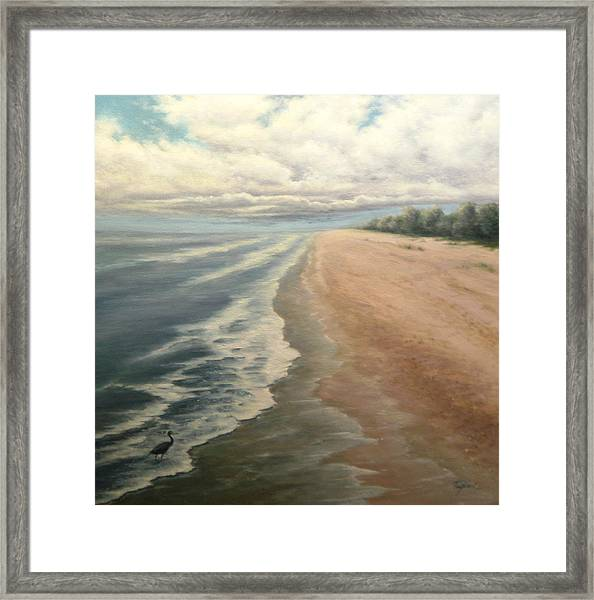 Earth Wind And Water Framed Print by Mary Taglieri