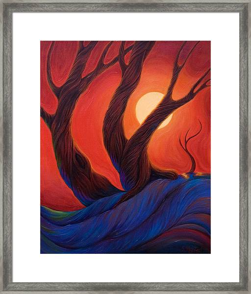 Earth  Wind  Fire Framed Print