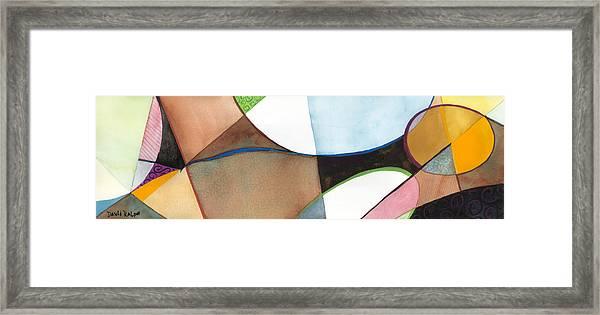 Earthly Figure Framed Print