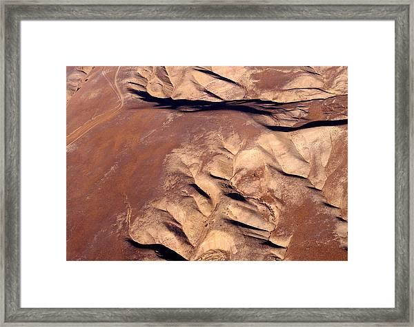 Earthmarks 3 Framed Print by Sylvan Adams