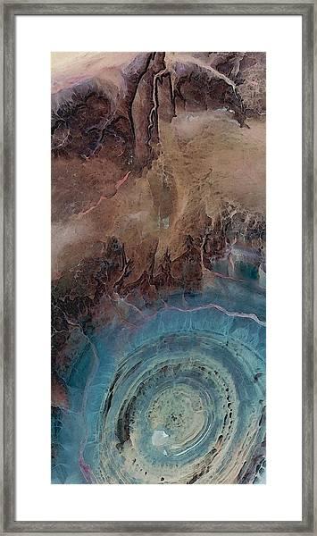 Earthship 1 Framed Print