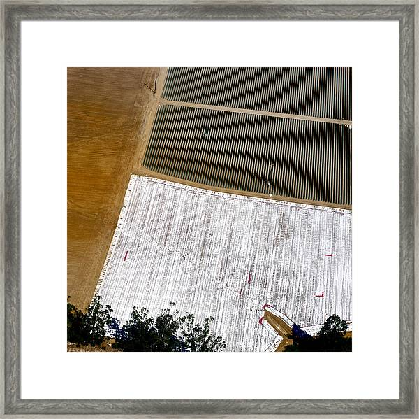 Earthwork 1 Framed Print by Sylvan Adams