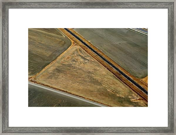 Earthworks 3 Framed Print by Sylvan Adams