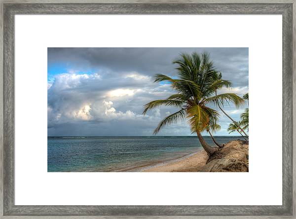 East From Puerto Rico Framed Print