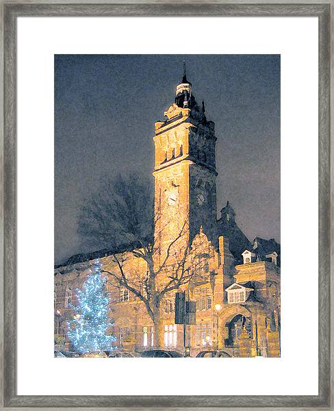 East Ham Town Hall Framed Print