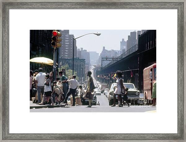 East Harlem Framed Print by Erik Falkensteen