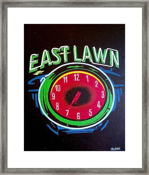 East Lawn Framed Print by Paul Guyer